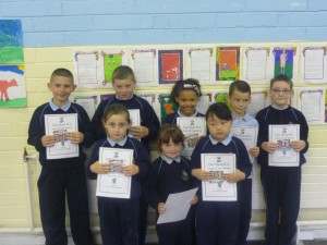 Pupils of the Month
