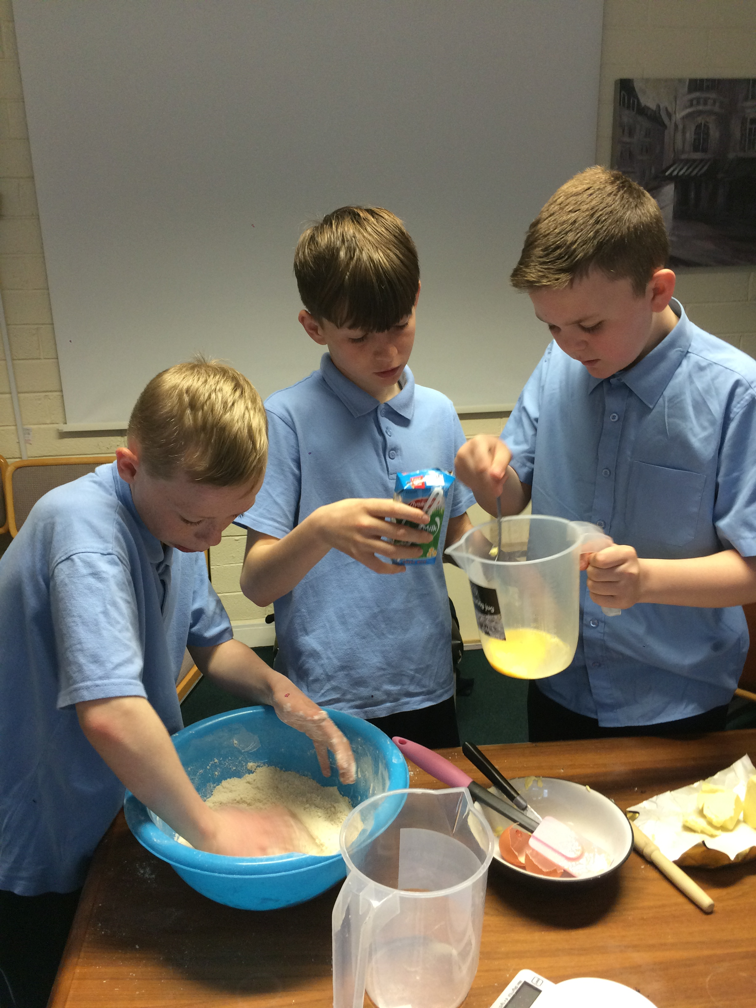 Cake Making Classes Gloucester : 6th Class Baking