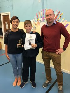 Congratulations to our Sportsperson of the Year 2017!