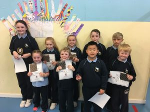 Our amazing Pupils of the Year. Congratulations!